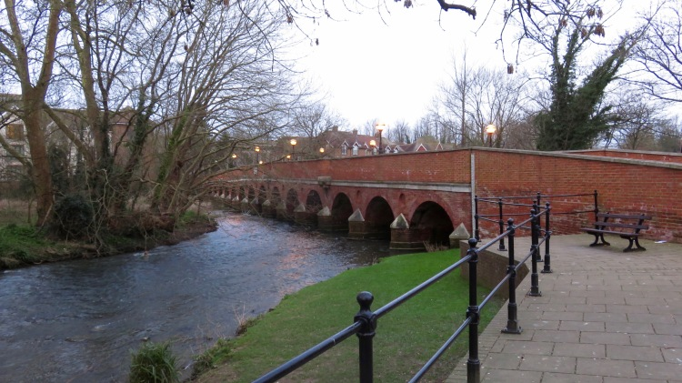 Leatherhead Bridge 1