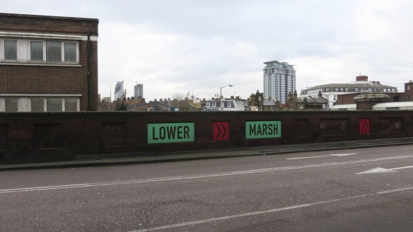 Lower Marsh sign
