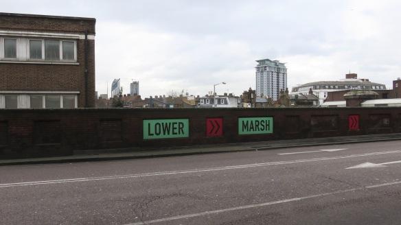 Lower Marsh sign