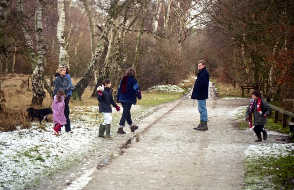 Michael, Jessica, Louisa, Alice, Emily, Oliver, Paddy and Heidi 12.03 1