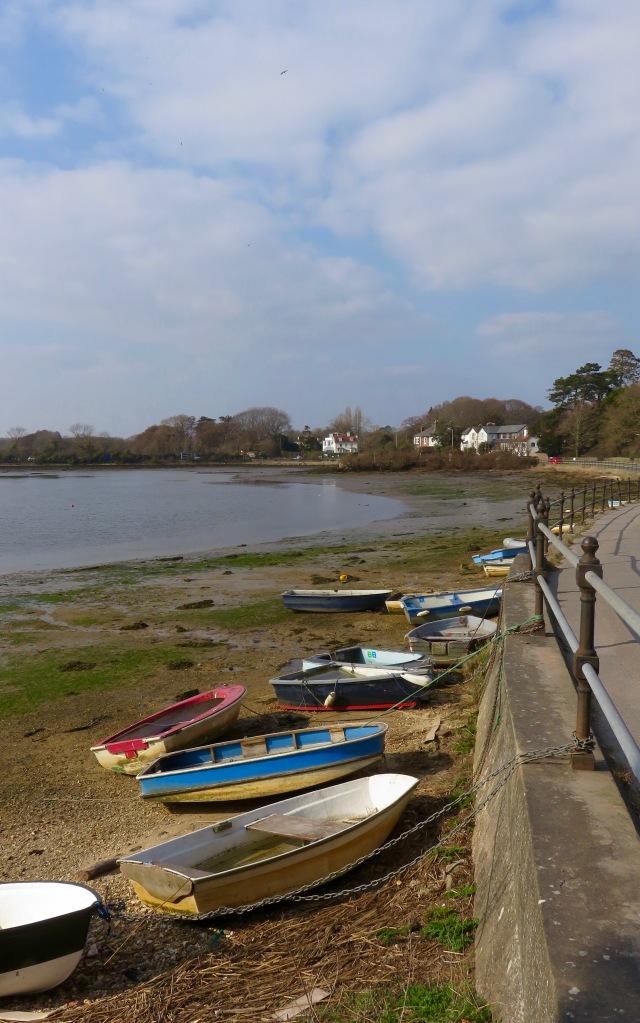 Boats, Lymington River