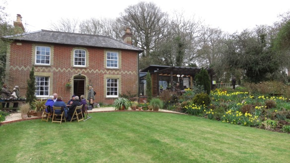 Pilley Cottage and garden