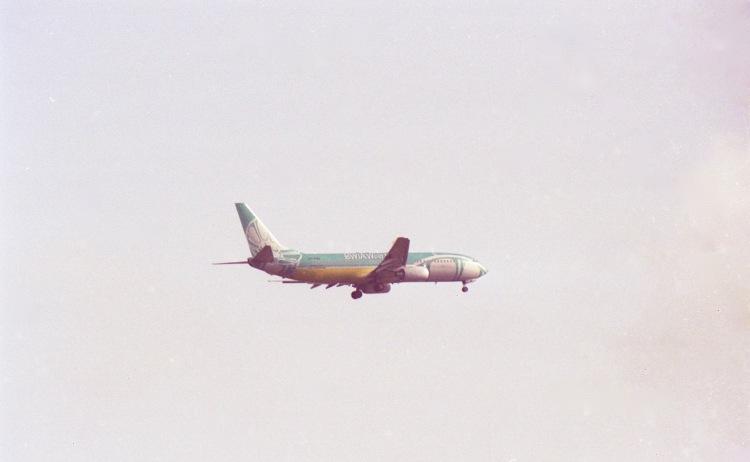 Plane BWIA