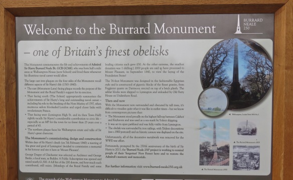 Welcome to the Burrard Monument