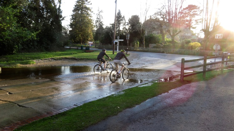Cyclists at ford 1