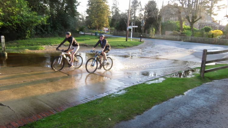 Cyclists at ford 3