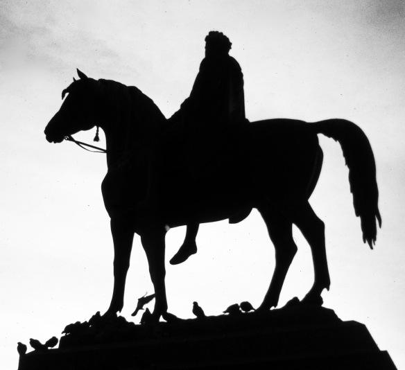 George IV equestrian statue