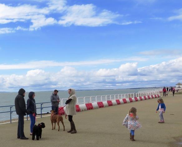 Families on Promenade