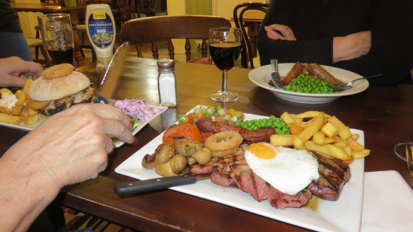Meals at The Fox and Hounds