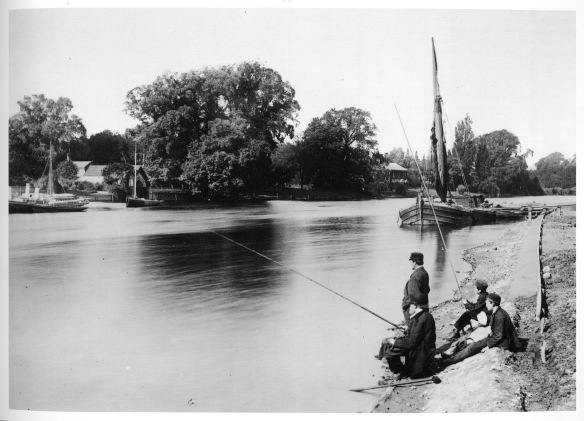 Anglers at Kingston