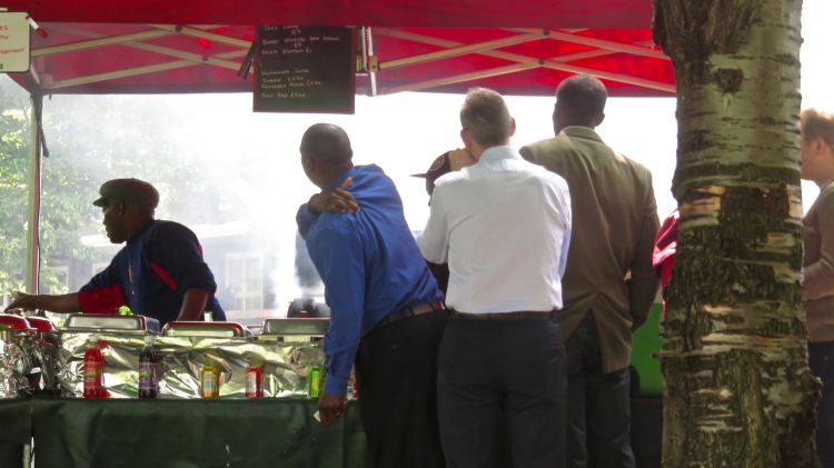 Barbecue stall 2