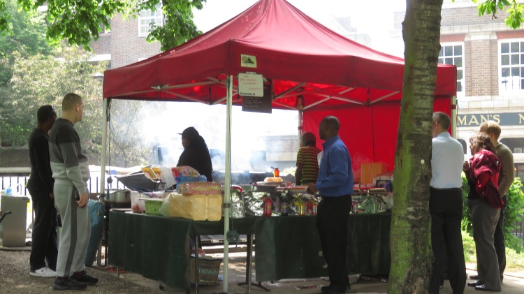 Barbecue stall 4