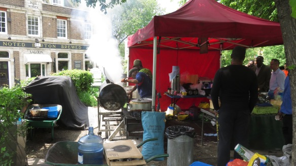 Barbecue stall 6