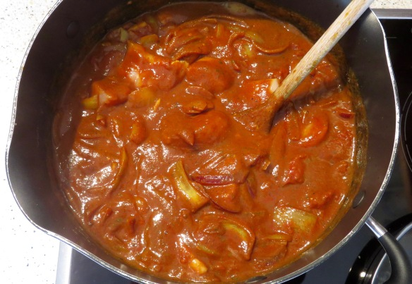 Chicken jalfrezi 5