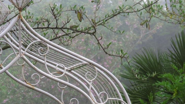 Misty background