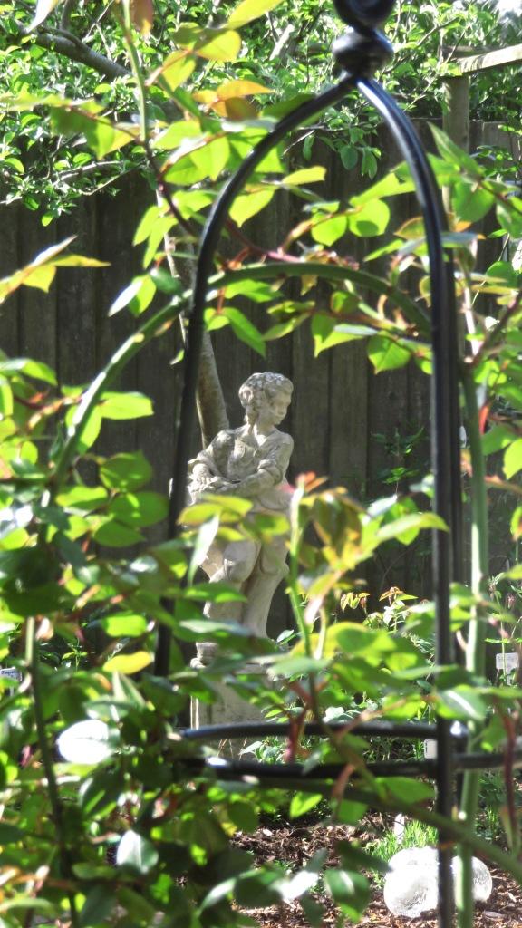 Summer season statue