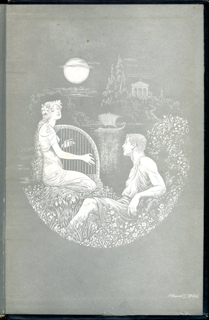 The Cream of the Jest endpaper 002