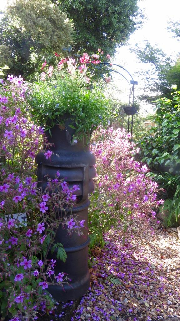 Chimney pot planter
