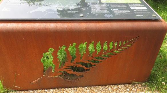 Fern sculpture