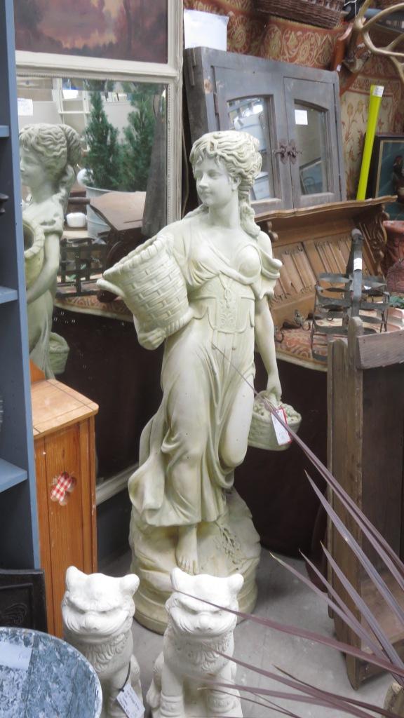 Vintage statue