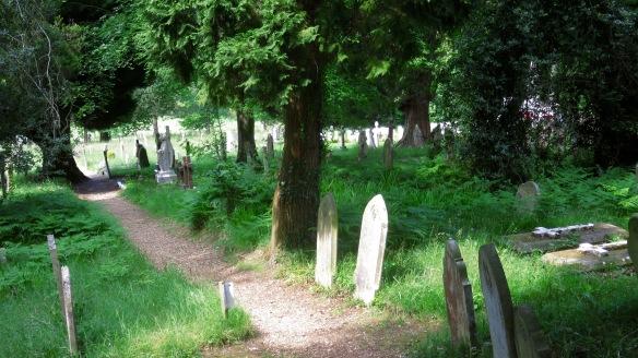 Graveyard St Nicholas's Church 2