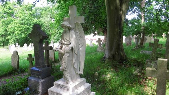 Graveyard St Nicholas's Church 3