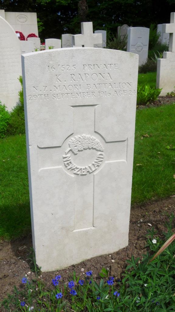 K. Rapona gravestone