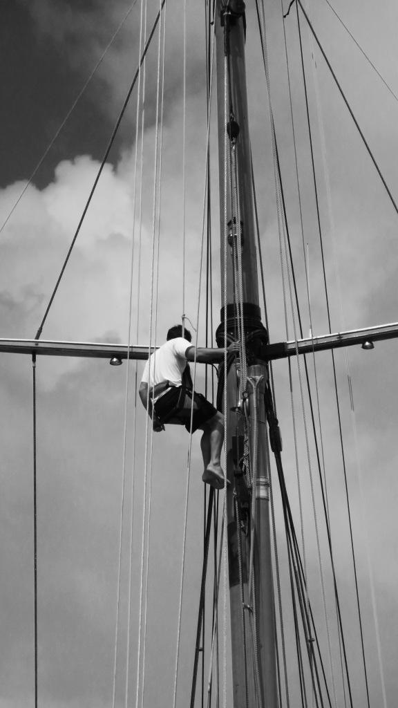 Man up mast