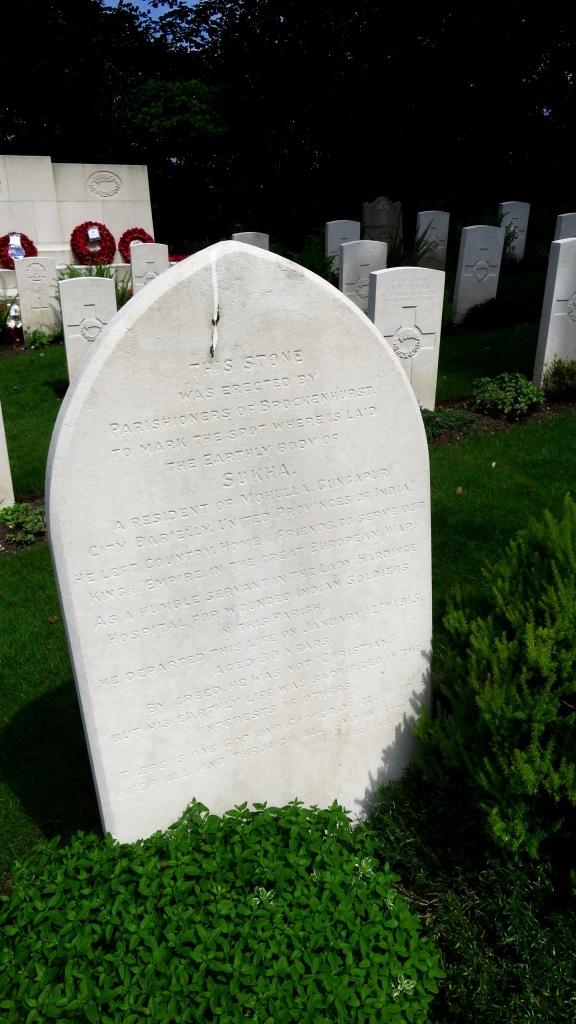 Sukha gravestone