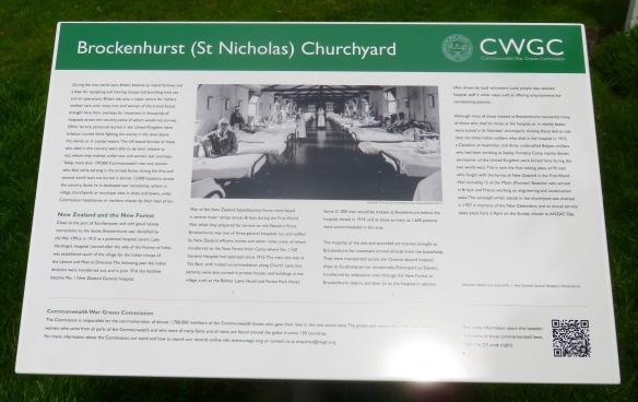 Brockenhurst Churchyard Commonwealth War Graves Board
