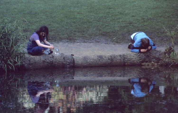 Matthew and Becky and reflections 5.81