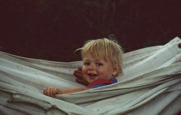 Sam in hammock 8.81
