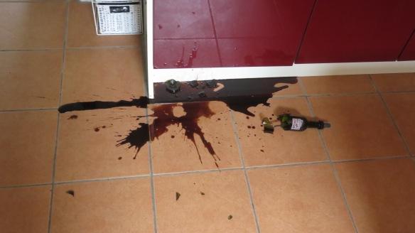 Smashed balsamic vinegar