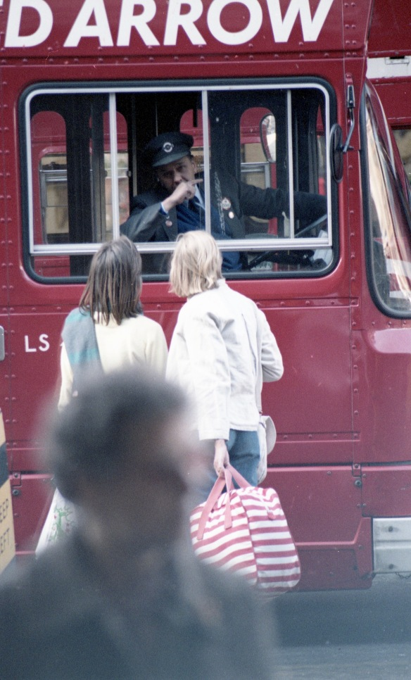 Bus driver giving directions 1 1984