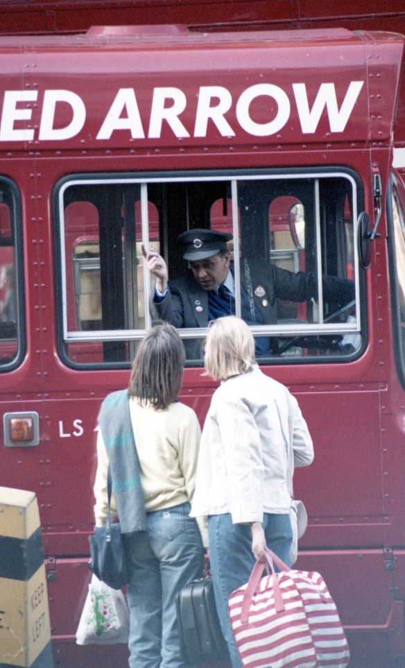 Bus driver giving directions 2 1984