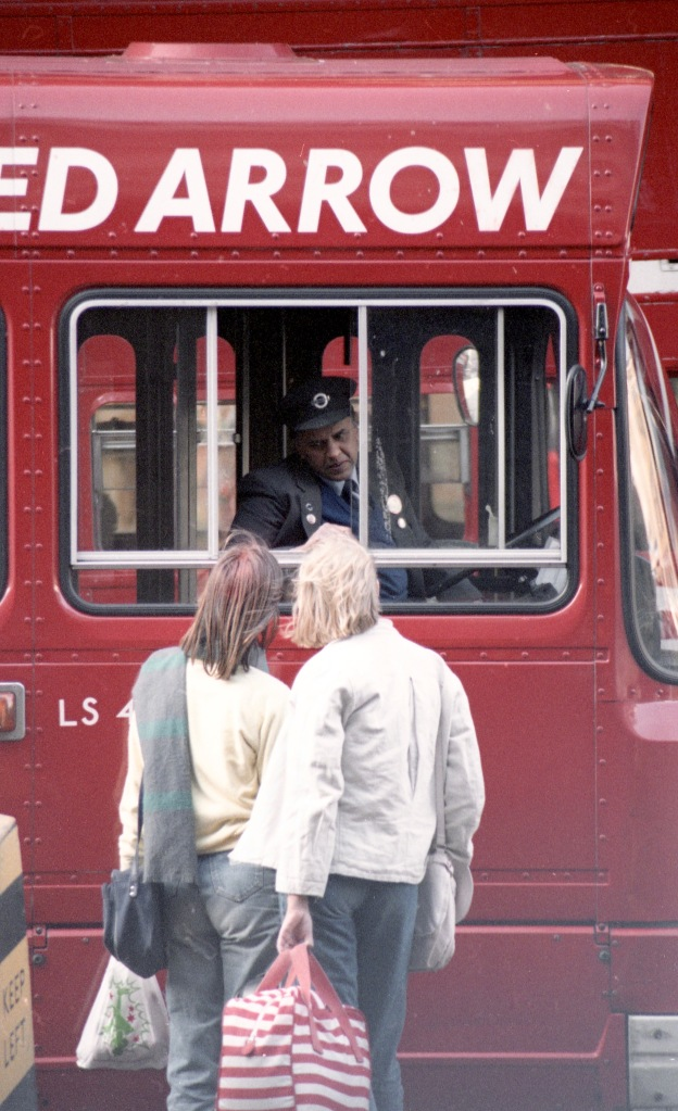 Bus driver giving directions 5 1984
