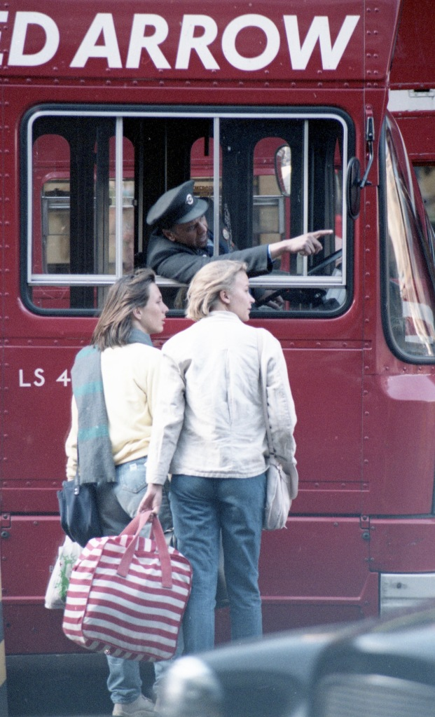 Bus driver giving directions 6 1984