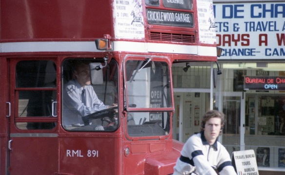 Bus to Cricklewood 1984