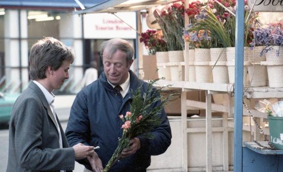 Flower stall 2 1984