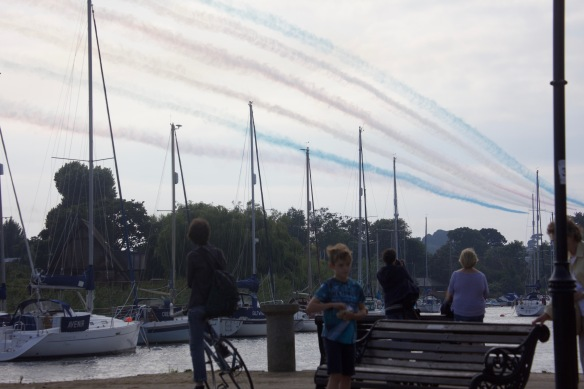 Red Arrows trail 2