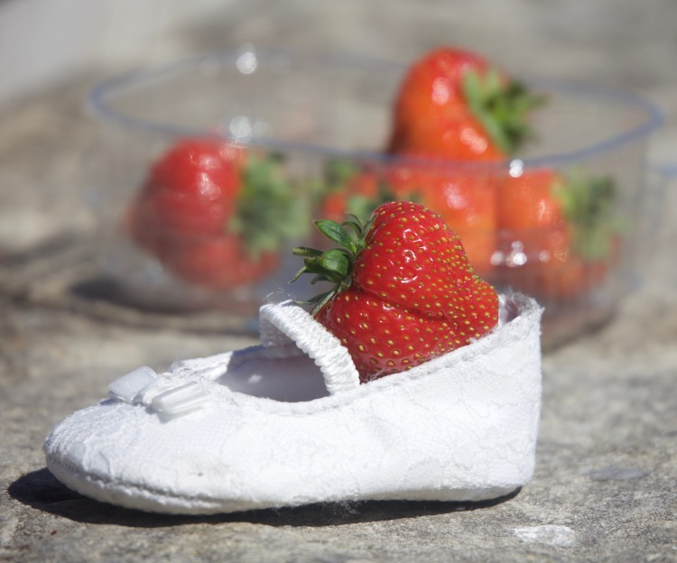 Strawberry in shoe 2