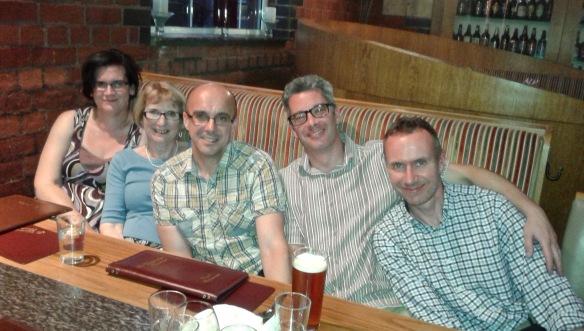 Fiona, Frances, Peter, Paul & Michael