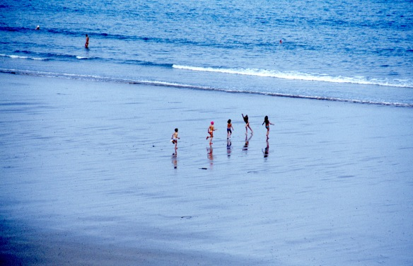 Children on beach 9.82 2