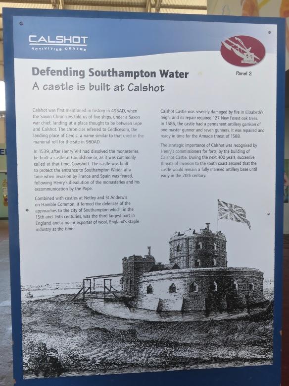 Defending Southampton Water