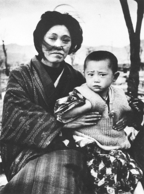 Mother and Child at Hiroshima 1945
