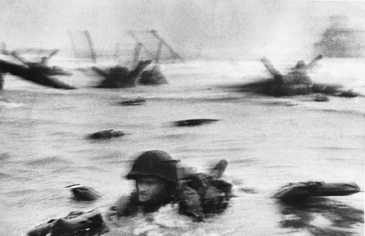 Normandy invasion on D-Day 6.6.42