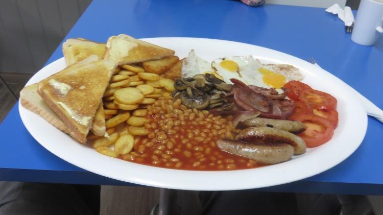 Olympics breakfast
