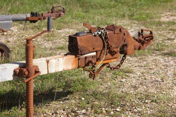 Rusting tackle