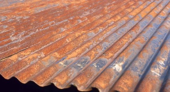 Rusty iron roof 9.82 1