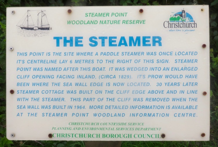 The Steamer sign